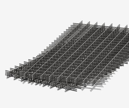 Сетка кладочная черная 50х50х2,5 мм (1х2)