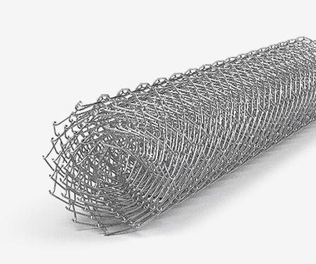 Сетка рабица оцинкованная 10х10х1 мм (1х10)