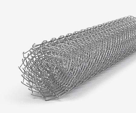 Сетка рабица оцинкованная 55х55х2,5 мм (1,5х10)