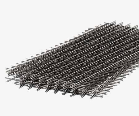 Сетка дорожная черная 100х100х2,5 мм (2х3)